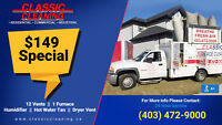 Calgary-Area Furnace & Duct Cleaning