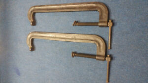 """Heavy duty  industrial C clamps Hargrave 18"""" No. 42"""