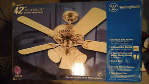 Ceiling Fan and Light- Brand New London Ontario image 1