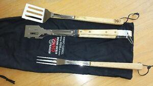 BBQ tool set, 3pcs.