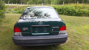 1998 Toyota Tercel as is. Price reduced again