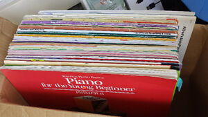 Beginner Intermediate Piano Method Books, VSO program collection