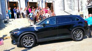 Chauffeur privé voiture luxe 7 passager cx9 GT 2018 Marriage & +