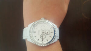 Fossil White Ceramic Watch