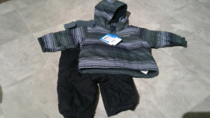 6 - 12 month boys Columbia snow suit