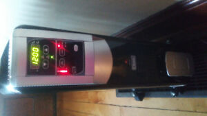 Oil filled space heater