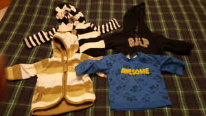 Boys Clothing Lot (0-6 mths)