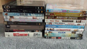 *PRICE DROP*DVD'S FOR SALE 0.50 cents each