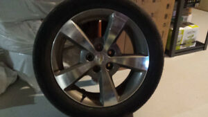 Rims/Mags and Tires (P225/50R17)