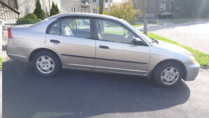 2001 Honda Civic Sedan West Island Greater Montréal image 1