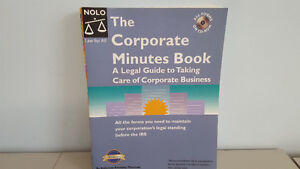 Corporate Minute Book - Legal Guide to help with Corporate Biz for sale  Hamilton
