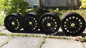 "4 Winter Rims 15"" 4 x 114.3 $ 100.00"