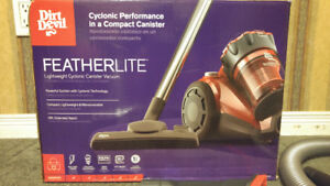 Dirt Devil Cyclonic Canister Vacuum