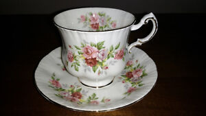 Bone China cups and saucers and creamer and sugar REDUCED Sarnia Sarnia Area image 7