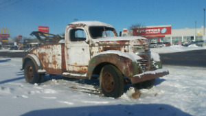 1947 dodge tow truck