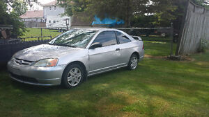 2001 Honda Civic Coupe (2 door)AS IS
