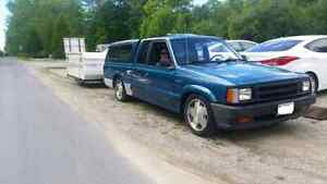 Mazda b2200 parts. Hoods, tailgates, doors, wheels