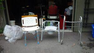 Homecare , walker,shower seat, comode sold