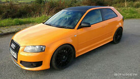 Audi S3 2.0T FSI 2007 quattro 355 bhp.