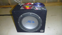 Car subwoofer and 500W amp.