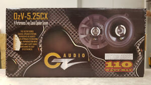 "OZ Audio 5-1/4"" Coaxial Car Speakers"