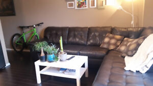 Fully Furnished 1Bdrm w/Parking 1 block from downtown Regina/RGH
