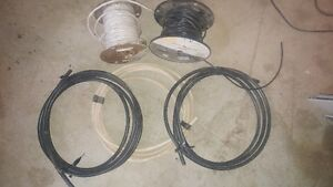3/0 AWG 200A service cable, #14 three wire, #12 two wire, coax