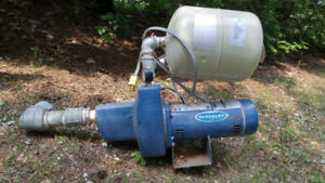 1 hp electric motor and water pump