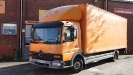 2000 Mercedes-Benz Atego 817 BOX WITH TAIL LIFT 22MTR MEGA LOW KMS 29917 !!!