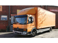 2000 Mercedes-Benz Atego 817 BOX WITH TAIL LIFT 22MTR