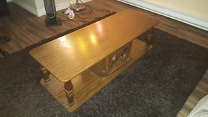 2 end tables and and coffee table