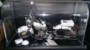 1:10 Diecast Franklin Mint Harley Davidson and Indian Motorcycle