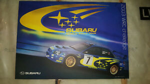 Subaru wall art