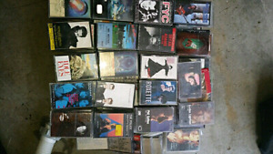 Cassette tapes and CD's