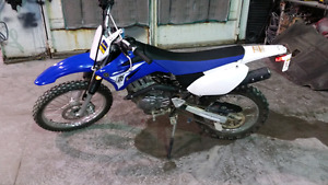 Like new  2014 ttr125le