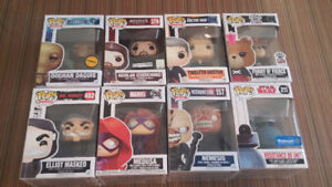 Funko Pops Selection