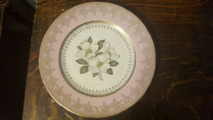 Sovereign Pottery Dogwood Bloosom Plate