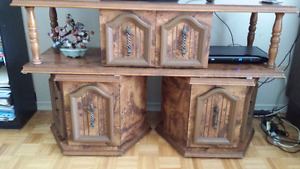 Antique coffee table/stand/armoire
