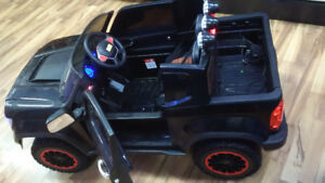 Kids ride on Ford Truck 12v with  4 motors power steering