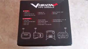 FPV goggles with 5.8Ghz 40ch receiver