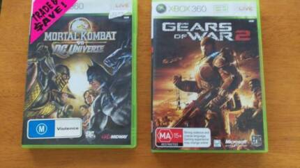 Mortal Combat vs DC universes games for Xbox 360