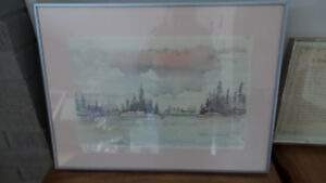 Lakeview Watercolor