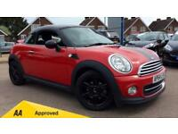 2015 Mini Coupe 1.6 Cooper 3dr Manual Petrol Coupe