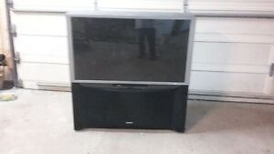 "51"" Hitachi TV"