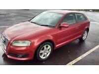 Audi A3 2.0 TDI SE Good / Bad Credit Car Finance (red) 2009