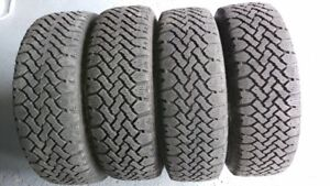 4 Winter tires on Rim ( M+ S  P185/65R15 86S )