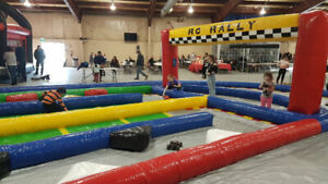 Inflatable RC Race Track and Cars for Rent
