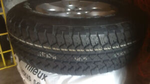 Reduced Brand New Mounted 255-70-18 «Bridgstone Duelers 5*5 Rims