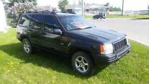 1998 Jeep Grand Cherokee 5.9 Limited SUV, Crossover