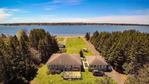 beautiful waterfront house in Stanhope for rent!